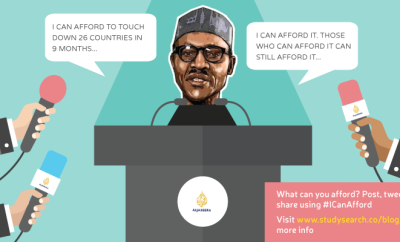 Buhari - i can afford it