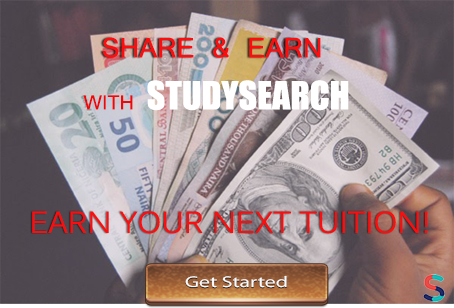 Refer Your Friend to StudySearch and Earn Your Next Pocket Money