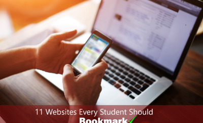 11 websites every student should bookmark